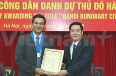 Hanoi: US doctor recognised for TB-prevention mission