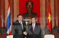 President receives Thai Deputy Prime Minister