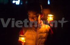 Hanoi turns off the lights for Earth Hour
