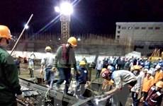 Scaffold collapse in Ha Tinh's economic zone kills at least 14