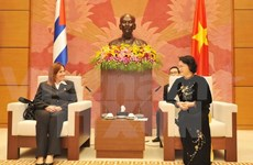 National Assembly Vice Chairwoman receives Cuban guests