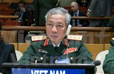 Vietnamese defence delegation attends UN peacekeeping conference