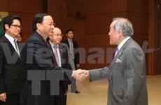 Party officials meet IPU-132 delegations