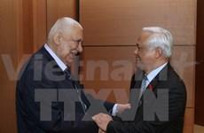 NA Vice Chairman meets Palestinian, Bulgarian guests
