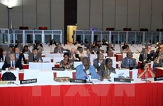 PM hosts State reception for IPU-132 participants