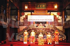 Duyet Thi Duong Royal Theatre reopens