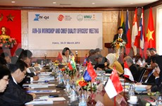 Can Tho University meets regional education standards