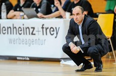 National basketball coach named