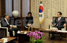 Justice Minister meets RoK legislative leader