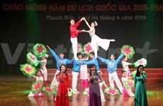Art performance in response to National Tourism Year held