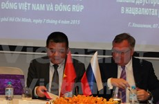 Vietnam-Russia bank eye dong-rouble channel