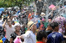 Vietnamese Thais hold Songkran activity in Khon Kaen