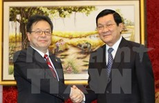 State President welcomes Japan's Deputy Chief Cabinet Secretary