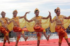Local performers join celebration of Khmer culture