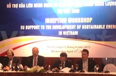 EU to support Vietnam's sustainable energy development