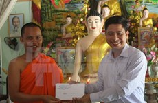 New Year wishes to Khmer people in Hau Giang