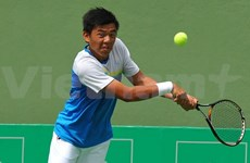 Tennis player Nam wins gold in India
