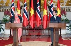 Norwegian PM concludes Vietnam visit