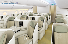 Vietnam Airlines' modern aircraft ready for take off