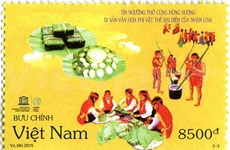 Stamps on Hung King worship rituals issued