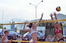 Asian women's beach volleyball championship opens in Ha Long