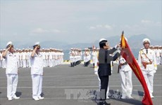 President congratulates Vietnamese navy on 60th anniversary