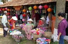 Hue traditional craft festival closes after five days
