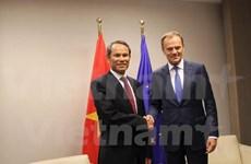 Ambassador presents credentials to EC President