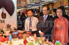 Vietnamese products get attention in French fair