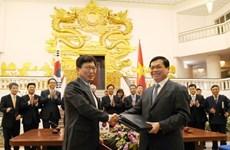 Vietnam, RoK sign free trade agreement