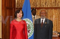 Vietnam, Belize boost bilateral relations