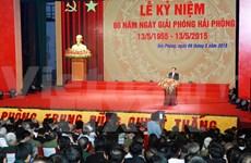Hai Phong city celebrates liberation day