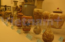 Ancient Vietnamese ceramics exhibited in Hanoi