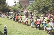 Hanoi's children lack spaces to play