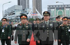 Vietnam, China hold border defence friendship discussion