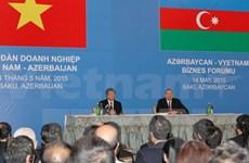 Vietnam, Azerbaijan work towards 1 billion USD in trade