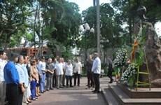 Cuban hero Jose Marti commemorated in Hanoi