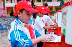 Hand washing can prevent diseases