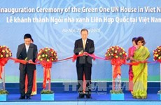Green One UN House inaugurated in Vietnam