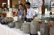 Architectural traces unearthed near Ho dynasty citadel