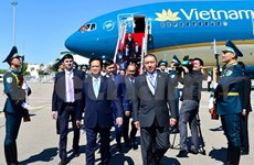 Vietnamese, Kazakh leaders pleased with growing ties