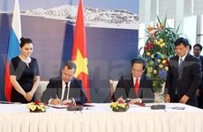 Vietnam, Eurasia Economic Union sign free trade agreement
