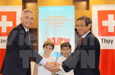 Swiss Consulate General in Ho Chi Minh City inaugurated