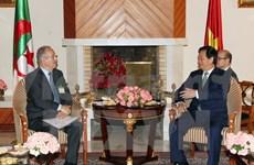 PM hosts Algeria-Vietnam Friendship Association's President