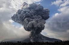 Indonesia's Mount Sinabung volcano on alert