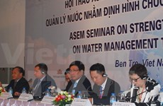 ASEM conference seeks sustainable water management