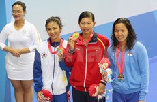 SEA Games 28: Vietnam at second place on day two