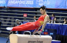 SEA Games 28: Thanh win gold in gymnastics