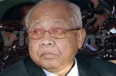 Condolences extended over Cambodian Senate President's decease