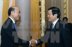 President welcomes IMF Deputy Managing Director